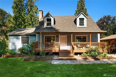 Snohomish Single Family Home For Sale: 18828 131st Dr SE