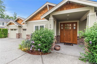 Sammamish Single Family Home For Sale: 5041 240th Place SE