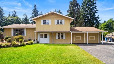 Puyallup Single Family Home For Sale: 7611 113th St E
