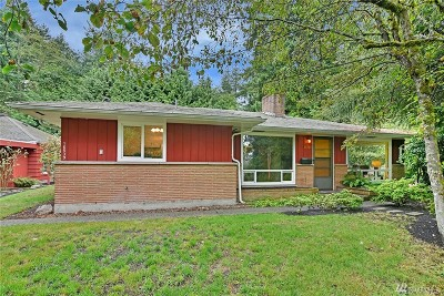 King County Single Family Home For Sale: 16539 27th Ave NE