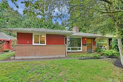 Shoreline Single Family Home For Sale: 16539 27th Ave NE
