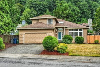 Renton Single Family Home For Sale: 15837 SE 156th St