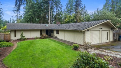 Renton Single Family Home For Sale: 16209 SE 145th St