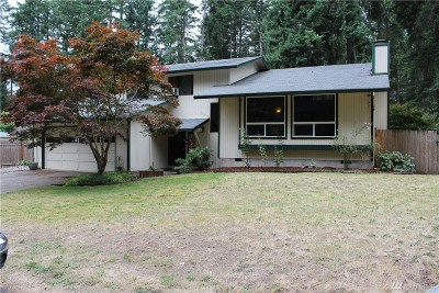 Olympia Single Family Home For Sale: 3515 Harvard Dr SE