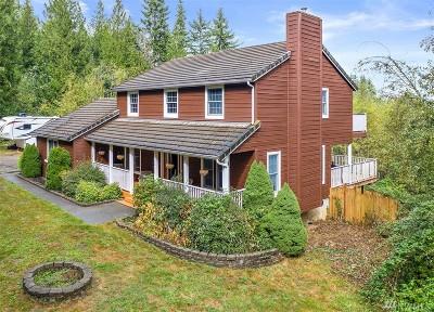 Centralia Single Family Home For Sale: 2422 Seminary Hill Rd