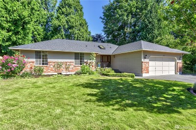 Bothell Single Family Home For Sale: 2513 241st St SE