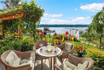 Sammamish Single Family Home For Sale: 5101 E Lake Sammamish Pkwy NE