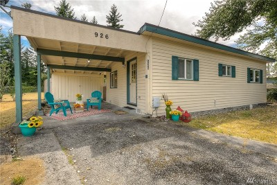 Thurston County Single Family Home For Sale: 926 2nd Ave SW