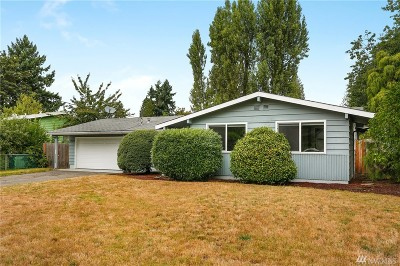 Bellevue Single Family Home For Sale: 12510 SE 63rd St