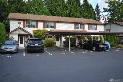 Bothell Condo/Townhouse For Sale: 15600 116th Ave NE #F2