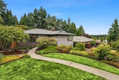 Mountlake Terrace Single Family Home For Sale: 6702 235th St SW