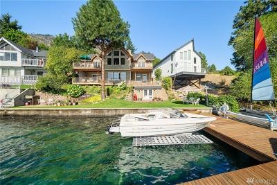 Chelan County, Douglas County Single Family Home For Sale: 15902 S Lakeshore Road
