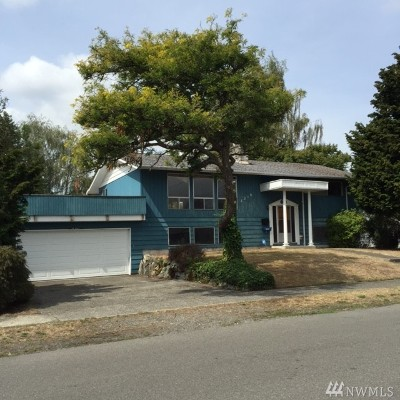 Tacoma Single Family Home For Sale: 7216 S Mullen St