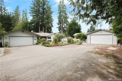 Port Orchard Single Family Home For Sale: 2785 SE Salmonberry Rd