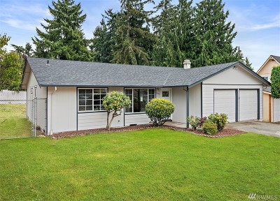 SeaTac Single Family Home For Sale: 21844 32nd Place S