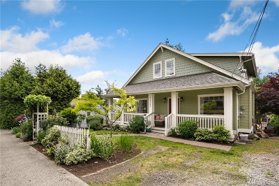 Seattle Single Family Home For Sale: 11341 5th Ave NE