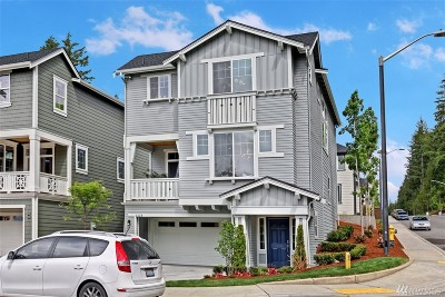 Sammamish Single Family Home For Sale: 1420 240th Ave NE #Lot90
