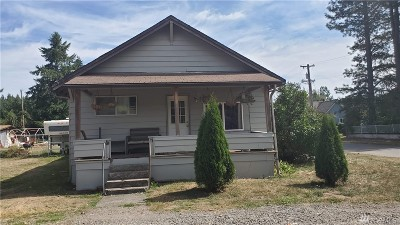 Bucoda Single Family Home For Sale: 112 S Market St