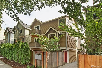 Seattle Single Family Home For Sale: 637 NW Market St