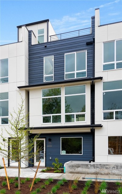 Seattle Single Family Home For Sale: 8525 7th Ave S #B