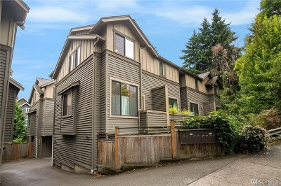 Seattle Single Family Home For Sale: 1017 NE 125th St #D