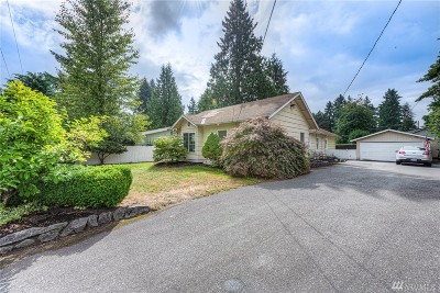 Bothell Single Family Home For Sale: 9235 NE 180th St