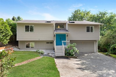 Kenmore Single Family Home For Sale: 18216 61st Ave NE