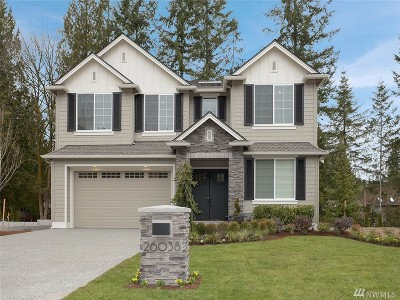 Sammamish Single Family Home For Sale: 26038 SE 36th St