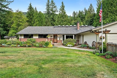 Arlington Single Family Home For Sale: 14513 Jordan Rd