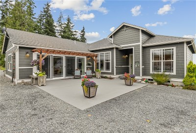 Mount Vernon Single Family Home For Sale: 19708 E Conway Hill Lane