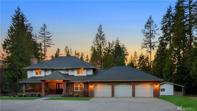 Woodinville Single Family Home For Sale: 24316 200th St