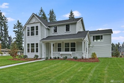 Pierce County, King County Single Family Home For Sale: 16025 SE 144th St #Lot19