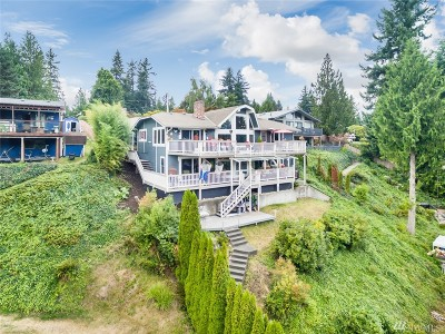 Lake Tapps Single Family Home For Sale: 3613 Lakeridge Dr E
