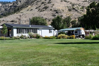 Single Family Home Pending: 6199 Entiat River Rd