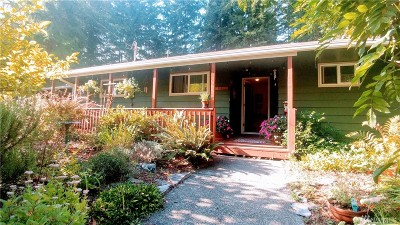 Montesano Single Family Home For Sale: 921 N Lake Hill Rd