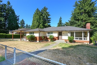 Burien Single Family Home For Sale: 14601 24th Ave SW