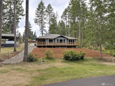 Shelton WA Single Family Home Pending: $359,500