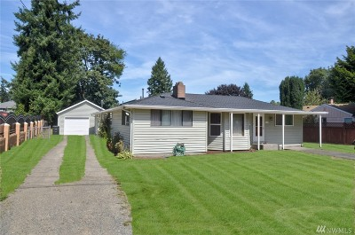 SeaTac Single Family Home For Sale: 3762 S 175th St