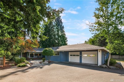 Bellevue Single Family Home For Sale: 505 140th Ave SE