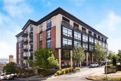 Tacoma Condo/Townhouse For Sale: 708 Market St #711