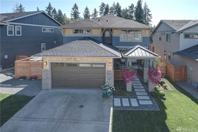 Bonney Lake Single Family Home Contingent: 13712 186th Av Ct E