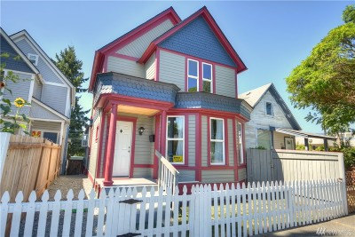 Single Family Home For Sale: 618 S Anderson St