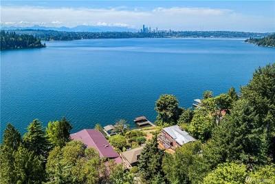 Mercer Island Single Family Home For Sale: 4811 Forest Ave SE