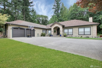 Pierce County Single Family Home For Sale: 21619 148th Ave E
