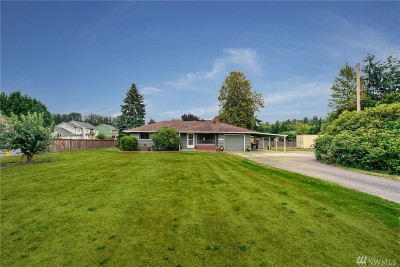 Puyallup Single Family Home For Sale: 8815 Orting Hwy E