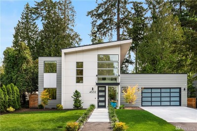 Mercer Island Single Family Home For Sale: 4532 89th Ave SE