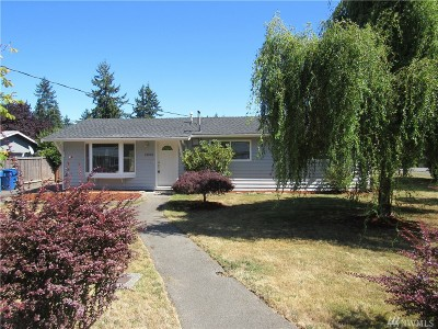 Edmonds Single Family Home For Sale: 15925 53rd Place W