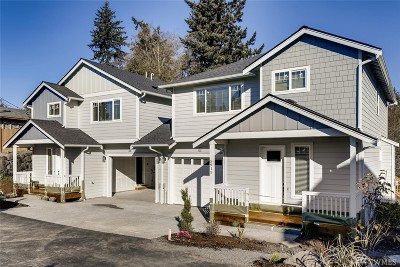Everett Condo/Townhouse For Sale: 5915 Glenwood Ave #A