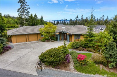 Anacortes Single Family Home For Sale: 13910 Seaview Wy