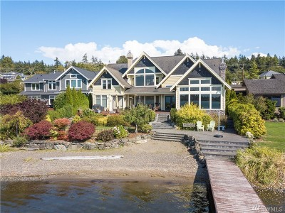 Bellingham WA Single Family Home For Sale: $2,695,000